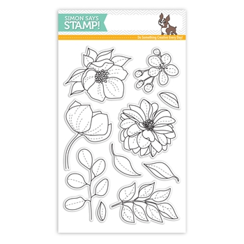 Simon Says Clear Stamps EVEN MORE SPRING FLOWERS sss101814 Best Days