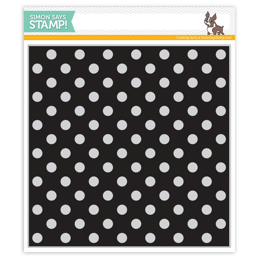 Simon Says Stamp REVERSE POLKA Background