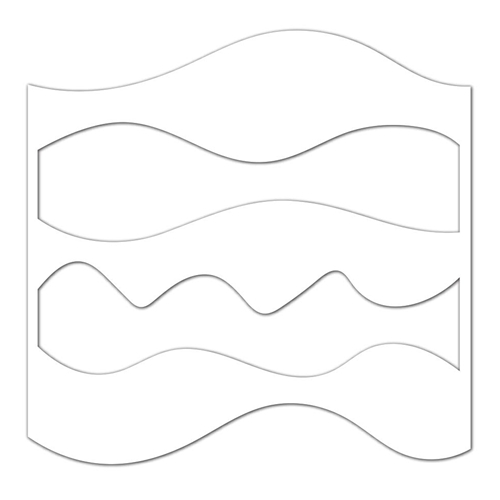 Simon Says Stencils WAVES AND HILLS ssst121414 Best Days Preview Image