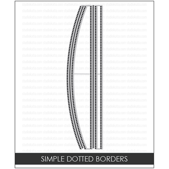 Studio Katia DOTTED PATTERNS SIMPLE BORDERS Dies stk015