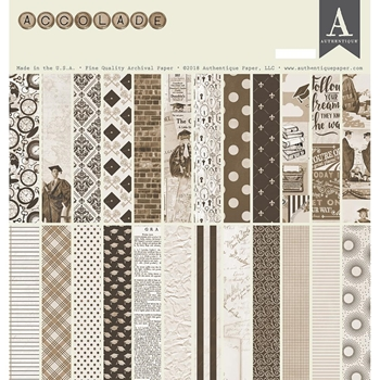 Authentique ACCOLADE 12 x 12 Collection Kit acd015