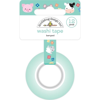 Doodlebug BARNYARD Washi Tape Down on the Farm 5888