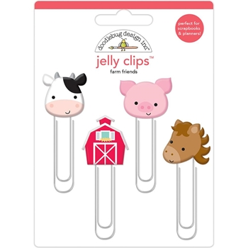 Doodlebug DOWN ON THE FARM Jelly Clips Paper Clip 5900