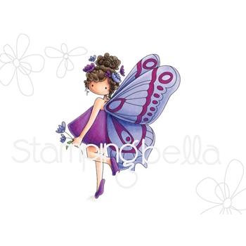 Stamping Bella Cling Stamp TINIE TOWNIE BRIANNA THE BUTTERFLY Rubber UM eb666