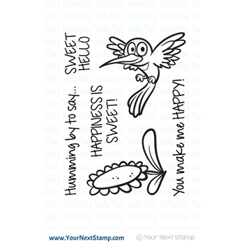 Your Next Stamp HUMMING BY Clear cyns569