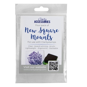 Claritystamp SQUARE MOUNTS Pack of 4 Handles accmo30546xx