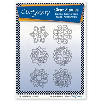 Claritystamp MANDALAS Clear Stamps and Mask stapa10584a5