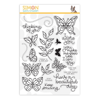 RESERVE Simon Says Clear Stamps BEAUTIFUL DAY sss101824