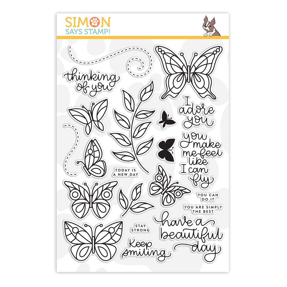 Simon Says Clear Stamps BEAUTIFUL DAY