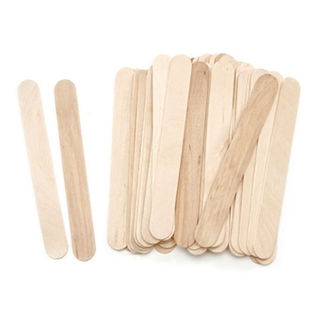 Darice JUMBO WOOD CRAFT STICKS 45 Pack 118169