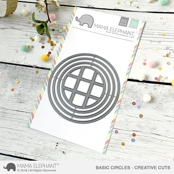 Mama Elephant BASIC CIRCLES Creative Cuts Steel Dies