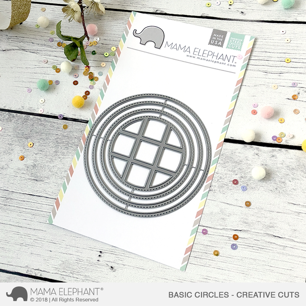 Mama Elephant BASIC CIRCLES Creative Cuts Steel Dies zoom image