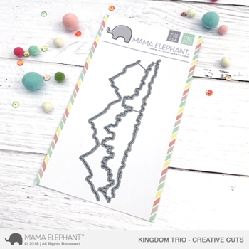 Mama Elephant KINGDOM TRIO Creative Cuts Steel Dies