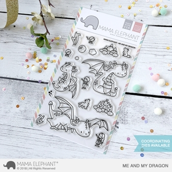 Mama Elephant Clear Stamp ME AND MY DRAGON