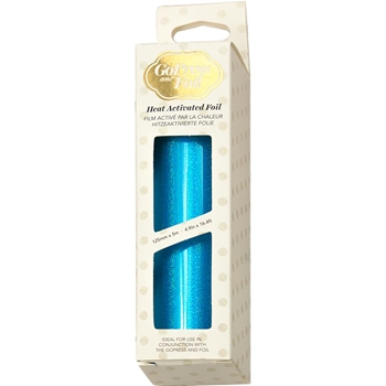 Couture Creations IRIDESCENT SPARKS CYAN Heat Activated Foil co726049