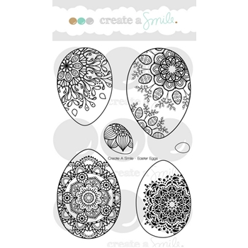 Create A Smile EASTER EGGS Clear Stamps clcs72