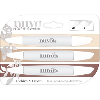 Tonic COOKIES & CREAM Nuvo Creative Pen Collection 329n