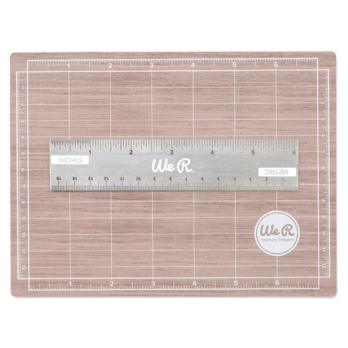 We R Memory Keepers MAGNETIC CUTTING MAT AND MINI RULER Tool 710929 Preview Image