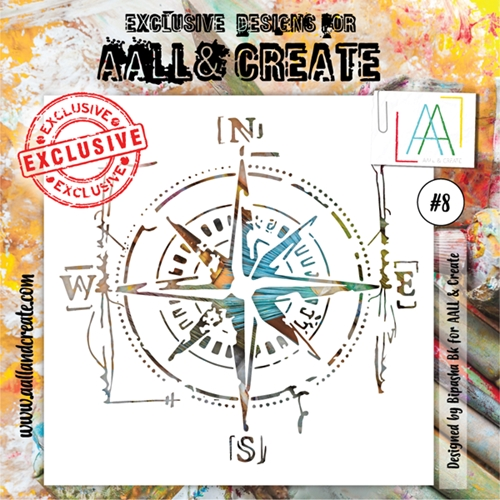 AALL & Create STENCIL 8 aal10008 Preview Image