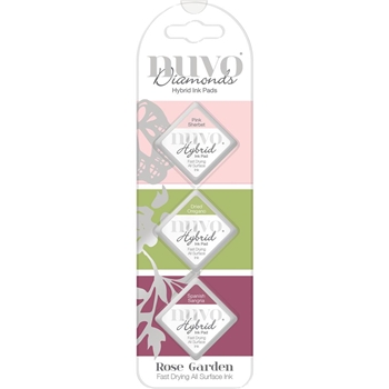 Tonic ROSE GARDEN Nuvo Diamond Hybrid Ink Pads 83n
