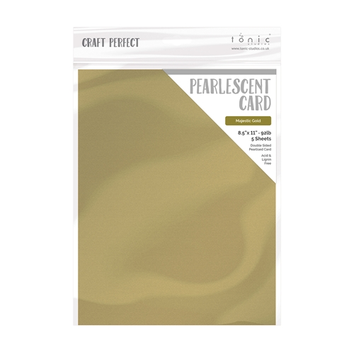 Tonic MAJESTIC GOLD Pearlescent Cardstock 9530e Preview Image