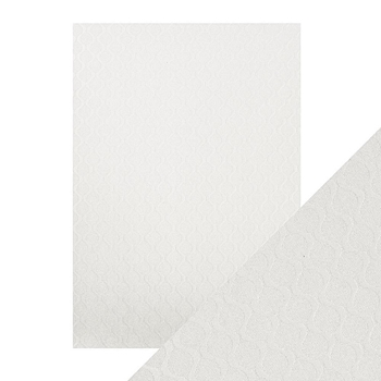 Tonic PEARL RIPPLE Luxury Embossed A4 Paper Pack 9821e