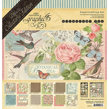 Graphic 45 BOTANICAL TEA 12 x 12 Deluxe Collector's Edition 4501684