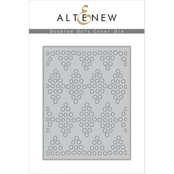 Altenew DOODLED DOTS COVER Die ALT2108