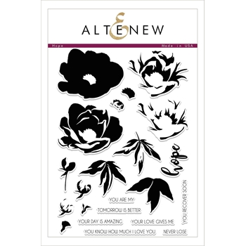 Altenew HOPE Clear Stamp Set ALT2093
