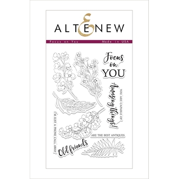 Altenew FOCUS ON YOU Clear Stamp Set ALT2090