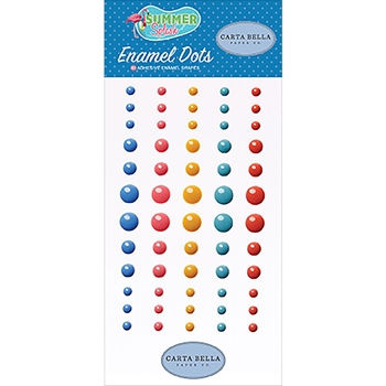Carta Bella SUMMER SPLASH Enamel Dots cbspl83028