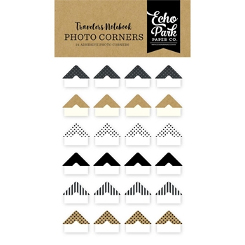 Echo Park COFFEE & FRIENDS PHOTO CORNERS Travelers Notebook tno1006