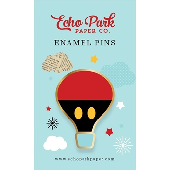 Echo Park MOUSE & ME ENAMEL PIN Travelers Notebook tnm1005