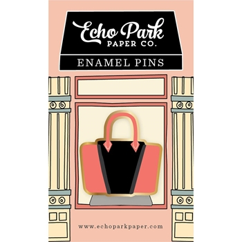 Echo Park HANDBAG ENAMEL PIN Travelers Notebook tng1005