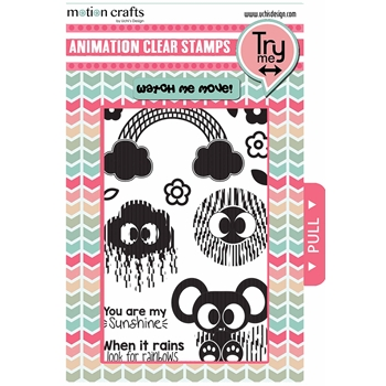 Uchi's Design SUNSHINE Animation Clear Stamps AS14