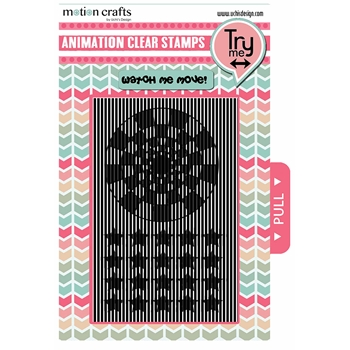 Uchi's Design BACKGROUND STARS Animation Clear Stamps AS16