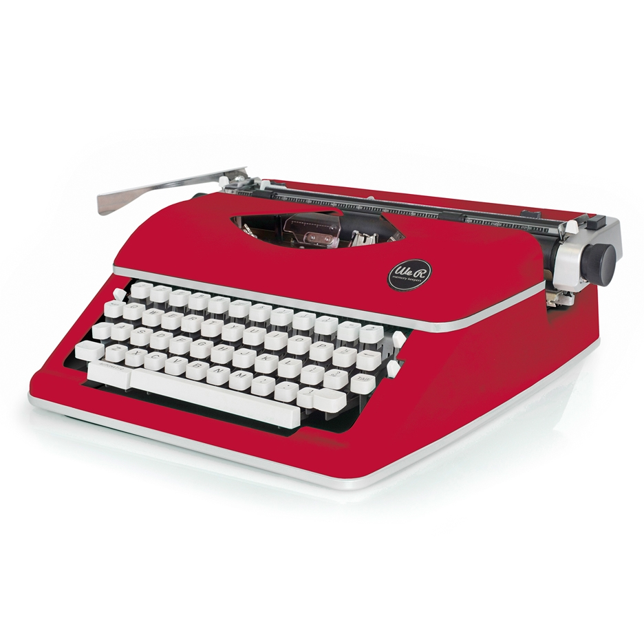 We R Memory Keepers RED TYPEWRITER Typecast 660262 zoom image