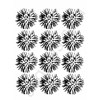 Joggles FLOWER BLOSSOMS 9x12 Stencil 2033705