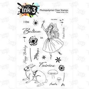 Inkon3 FAIRY WISHES Clear Stamp Set 98694