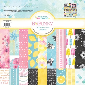 BoBunny 12 x 12 SUMMER MOOD Collection Pack 7310043