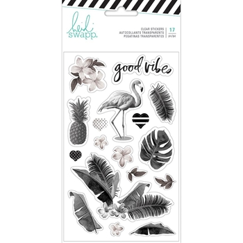 Heidi Swapp PINEAPPLE CRUSH Clear Stickers 314186