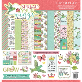 PhotoPlay SPREAD YOUR WINGS 12 x 12 Collection Pack sy8886