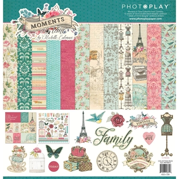 PhotoPlay MOMENTS IN TIME 12 x 12 Collection Pack mt8875