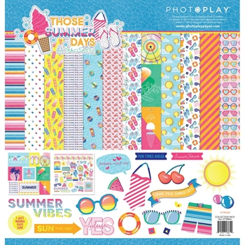 PhotoPlay THOSE SUMMER DAYS 12 x 12 Collection Pack ts8864