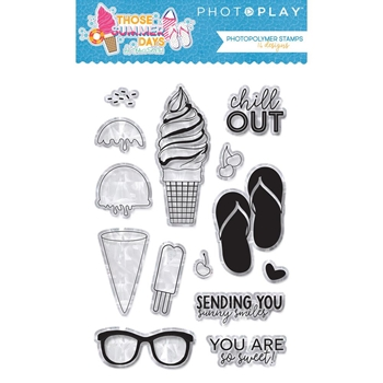 PhotoPlay THOSE SUMMER DAYS Clear Stamps ts8866