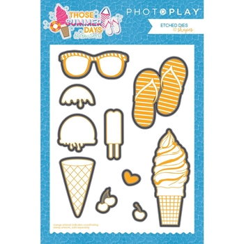 PhotoPlay THOSE SUMMER DAYS Die Set ts8867