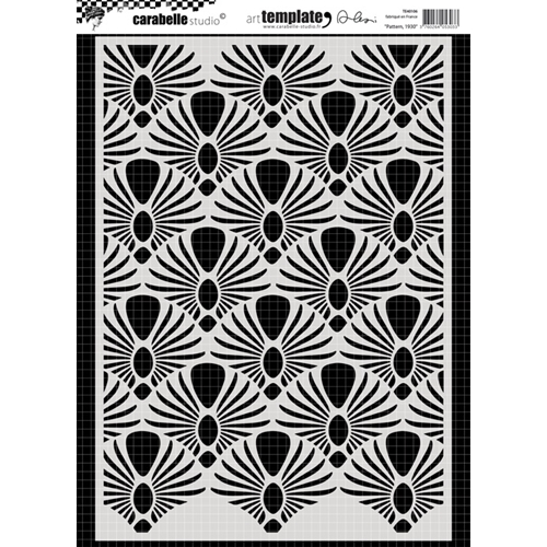 Carabelle Studio PATTERN 1930 Stencil te40106 Preview Image