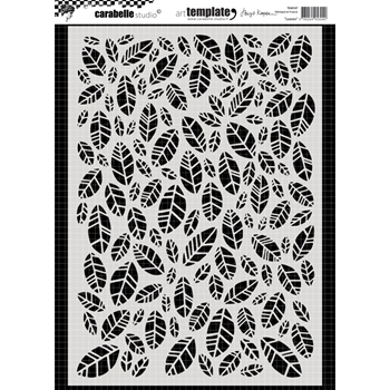 Carabelle Studio LEAVES Stencil te40107