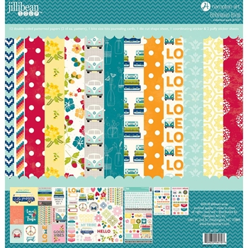 Jillibean Soup BOHEMIAN BREW 12x12 Collection Pack jb1557