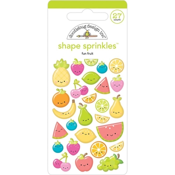 Doodlebug FUN FRUIT Shape Sprinkles Sweet Summer 5840